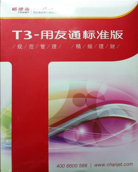 T3标准版总账
